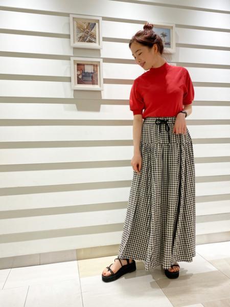 N. Natural Beauty Basic*のボリュームタフタマキシスカート<<S Size Line>>を使ったコーディネートを紹介します。|Rakuten Fashion(楽天ファッション/旧楽天ブランドアベニュー)1112958