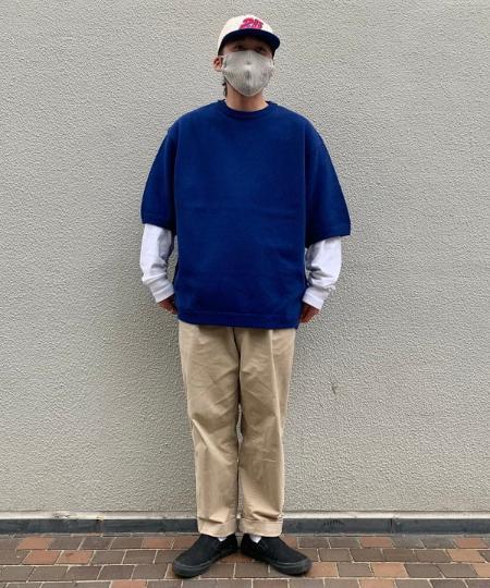 BEAMS TのCrepuscule / 鹿の子 ショートスリーブを使ったコーディネートを紹介します。|Rakuten Fashion(楽天ファッション/旧楽天ブランドアベニュー)1113200