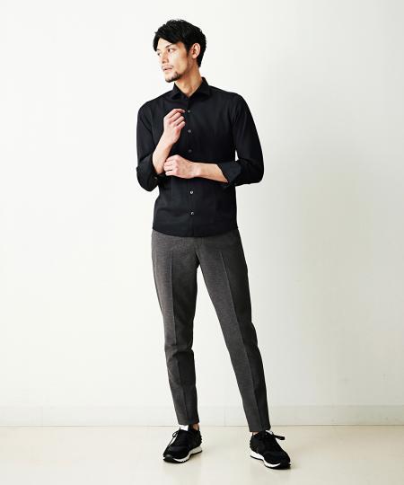 MICHEL KLEIN HOMMEのシャツ(ロジェ)を使ったコーディネートを紹介します。|Rakuten Fashion(楽天ファッション/旧楽天ブランドアベニュー)1113326