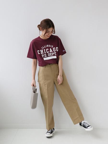 JOURNAL STANDARD relumeの【LEVIS/リーバイス】 sta prest wide leg crop:パンツ◆を使ったコーディネートを紹介します。|Rakuten Fashion(楽天ファッション/旧楽天ブランドアベニュー)1113505