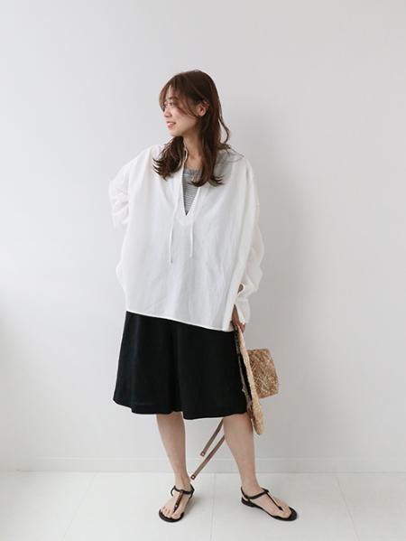 JOURNAL STANDARD relumeのリネンレーヨンイージーハーフパンツ◆を使ったコーディネートを紹介します。|Rakuten Fashion(楽天ファッション/旧楽天ブランドアベニュー)1113517