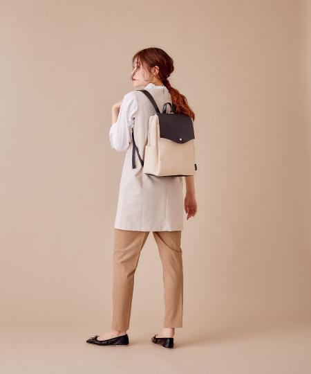 Legato Largoの(W)≪かるいかばん≫Lineareリュックを使ったコーディネートを紹介します。|Rakuten Fashion(楽天ファッション/旧楽天ブランドアベニュー)1113973