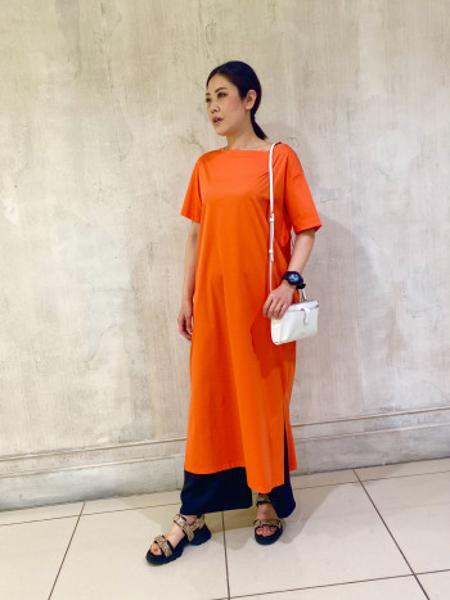 AU BANNISTERの厚底スポーツサンダルを使ったコーディネートを紹介します。|Rakuten Fashion(楽天ファッション/旧楽天ブランドアベニュー)1115471