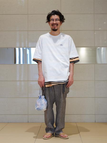 JOURNAL STANDARDの【CHARCOAL/チャコール】 OC Canvas KC Bag Tye-Dyeを使ったコーディネートを紹介します。|Rakuten Fashion(楽天ファッション/旧楽天ブランドアベニュー)1117958